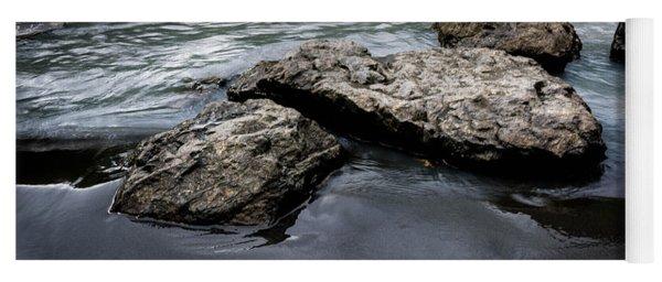Rocks In The River Yoga Mat