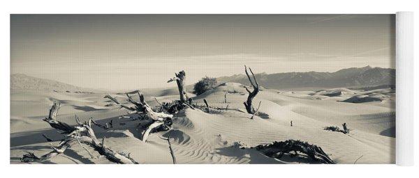Sand Dunes In A Desert, Mesquite Flat Yoga Mat