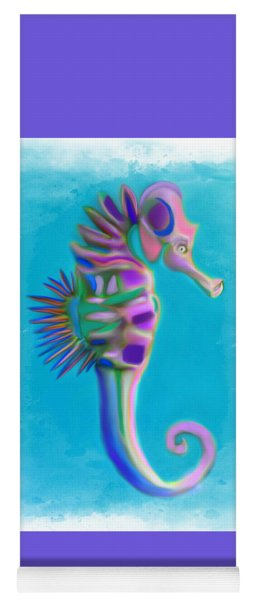 The Pretty Seahorse Yoga Mat