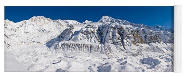 Snowcapped Mountain, Annapurna Base Yoga Mat