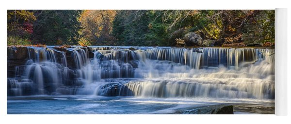 Squaw Rock - Chagrin River Falls Yoga Mat