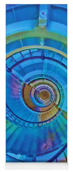 Stairway To Lighthouse Heaven Yoga Mat