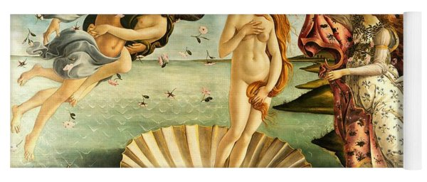 The Birth Of Venus Yoga Mat