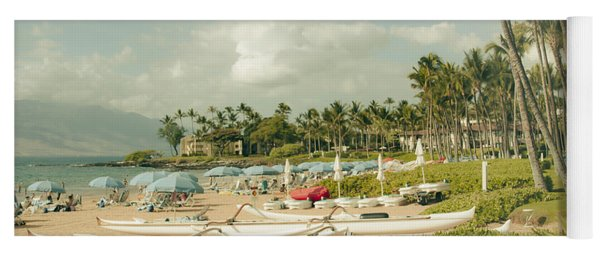 Wailea Beach Maui Hawaii Yoga Mat