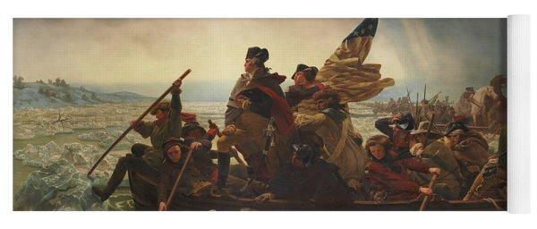 Washington Crossing The Delaware Yoga Mat