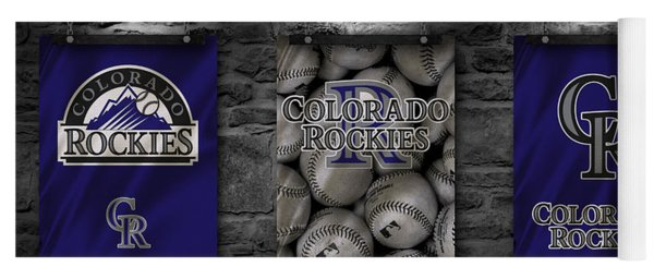Colorado Rockies Yoga Mat