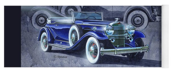 32 Packard Yoga Mat