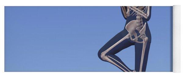 Yoga Tree Pose Yoga Mat