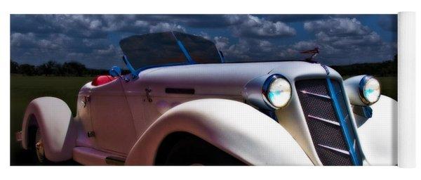 36 Auburn Speedster By Moonglow Yoga Mat