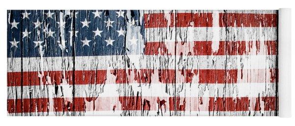 American Flag 49 Yoga Mat