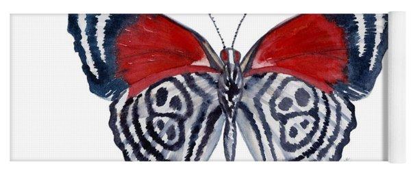 37 Diathria Clymena Butterfly Yoga Mat