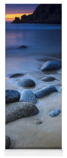 Campelo Beach Galicia Spain Yoga Mat