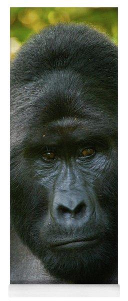 Close-up Of A Mountain Gorilla Gorilla Yoga Mat