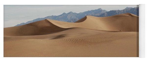 Death Valley National Park Mesquite Flat Sand Dunes Yoga Mat
