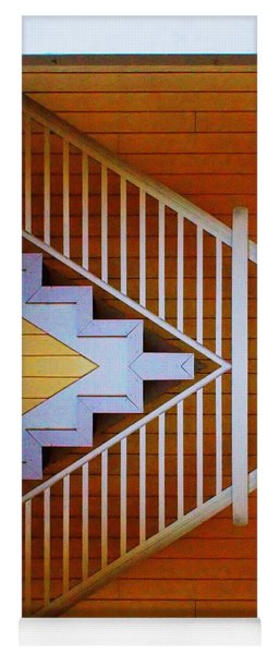 Distorted Stairs Yoga Mat