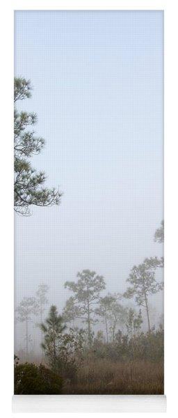 Early Morning Fog Landscape-5 Yoga Mat