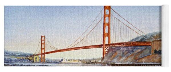 Golden Gate Bridge San Francisco Yoga Mat