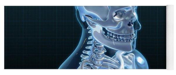 Human Skeleton, Artwork Yoga Mat