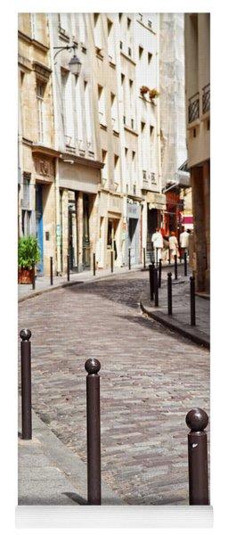 Paris Street Yoga Mat