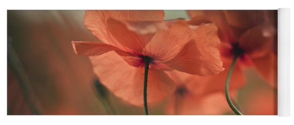 Poppy Meadow Yoga Mat