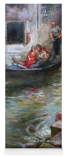 Romance In Venice  Yoga Mat