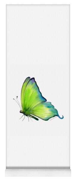 4 Skip Green Butterfly Yoga Mat