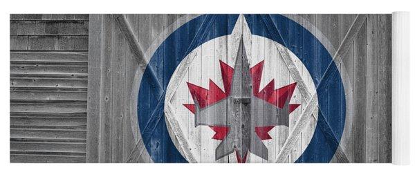 Winnipeg Jets Yoga Mat