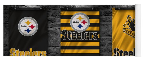Pittsburgh Steelers Yoga Mat