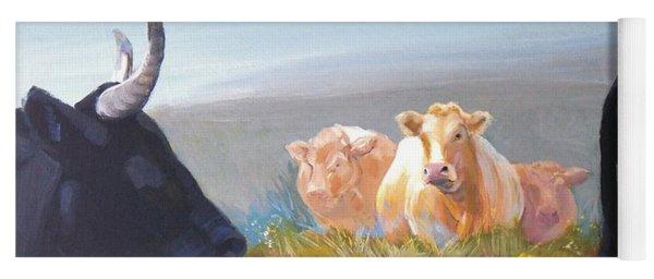 Cows Yoga Mat