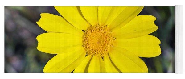 Crown Daisy Flower Yoga Mat