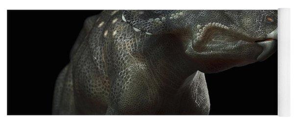Dinosaur Diceratops Yoga Mat