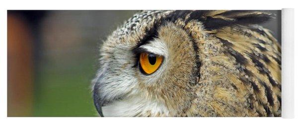 European Eagle Owl Yoga Mat