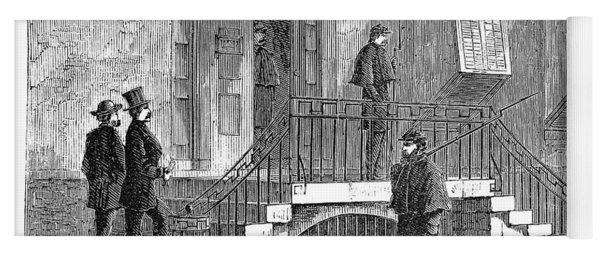 Johnson Impeachment, 1868 Yoga Mat