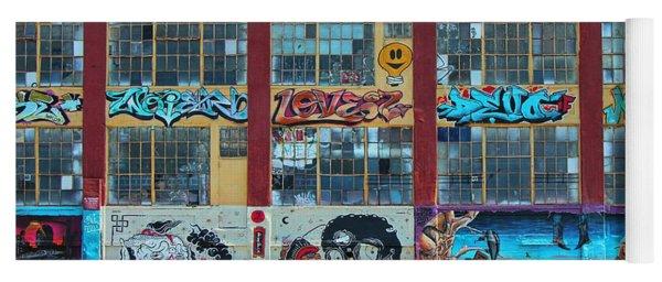5 Pointz Graffiti Art 10 Yoga Mat