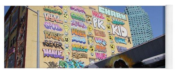 5 Pointz Graffiti Art 2 Yoga Mat