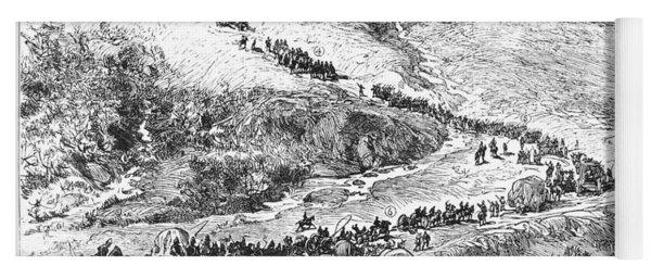 Zulu War, 1879 Yoga Mat