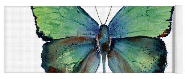 52 Arhopala Aurea Butterfly Yoga Mat