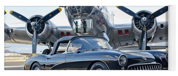 1957 Chevrolet Corvette Yoga Mat