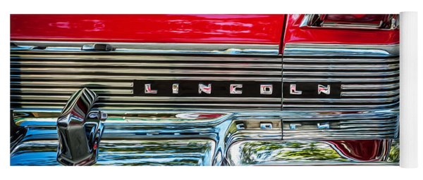 1957 Lincoln Premiere Coupe Painted  Yoga Mat