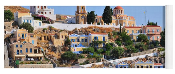 Colorful Symi Yoga Mat