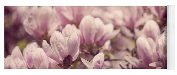 Magnolia Flowers Yoga Mat