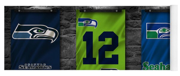 Seattle Seahawks Yoga Mat