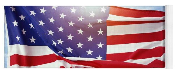 American Flag 55 Yoga Mat