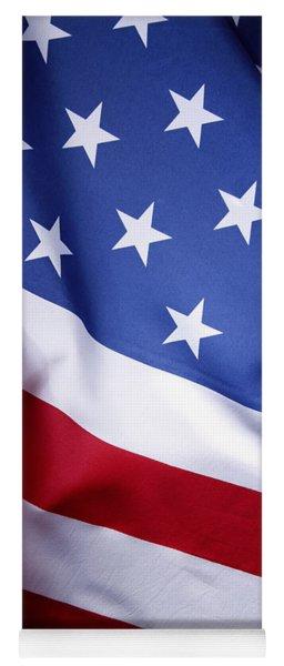 American Flag 50 Yoga Mat