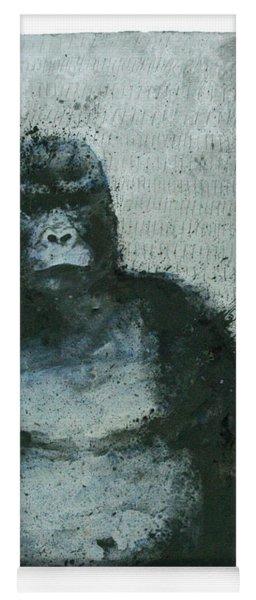650 Mountain Gorillas, 2008 Mixed Media Yoga Mat