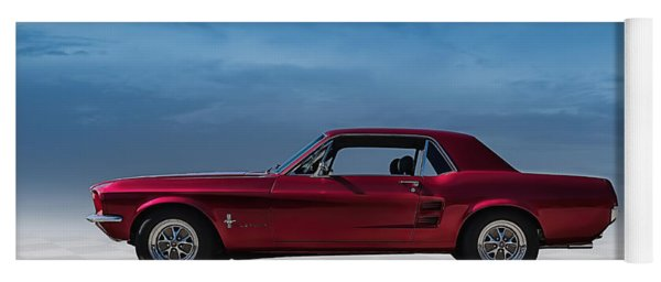 67 Mustang Yoga Mat