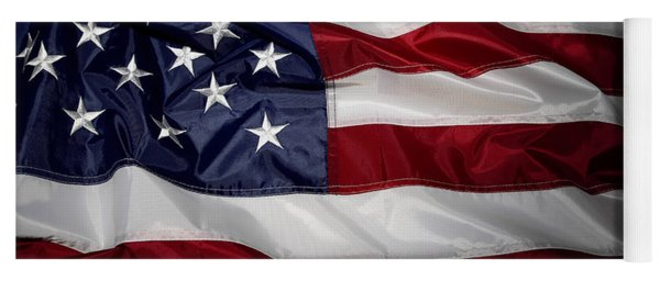 American Flag 52 Yoga Mat