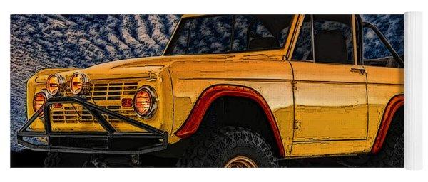 69 Ford Bronco 4x4 Restoration Yoga Mat