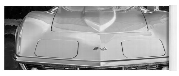 1969 Chevrolet Corvette 427 Bw Yoga Mat