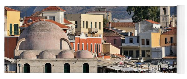 Chania City Yoga Mat